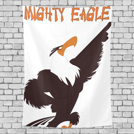 POPCreation Mighty Eagle Home Decoration Wall Tapestry 80x60 - Mighty Eagle