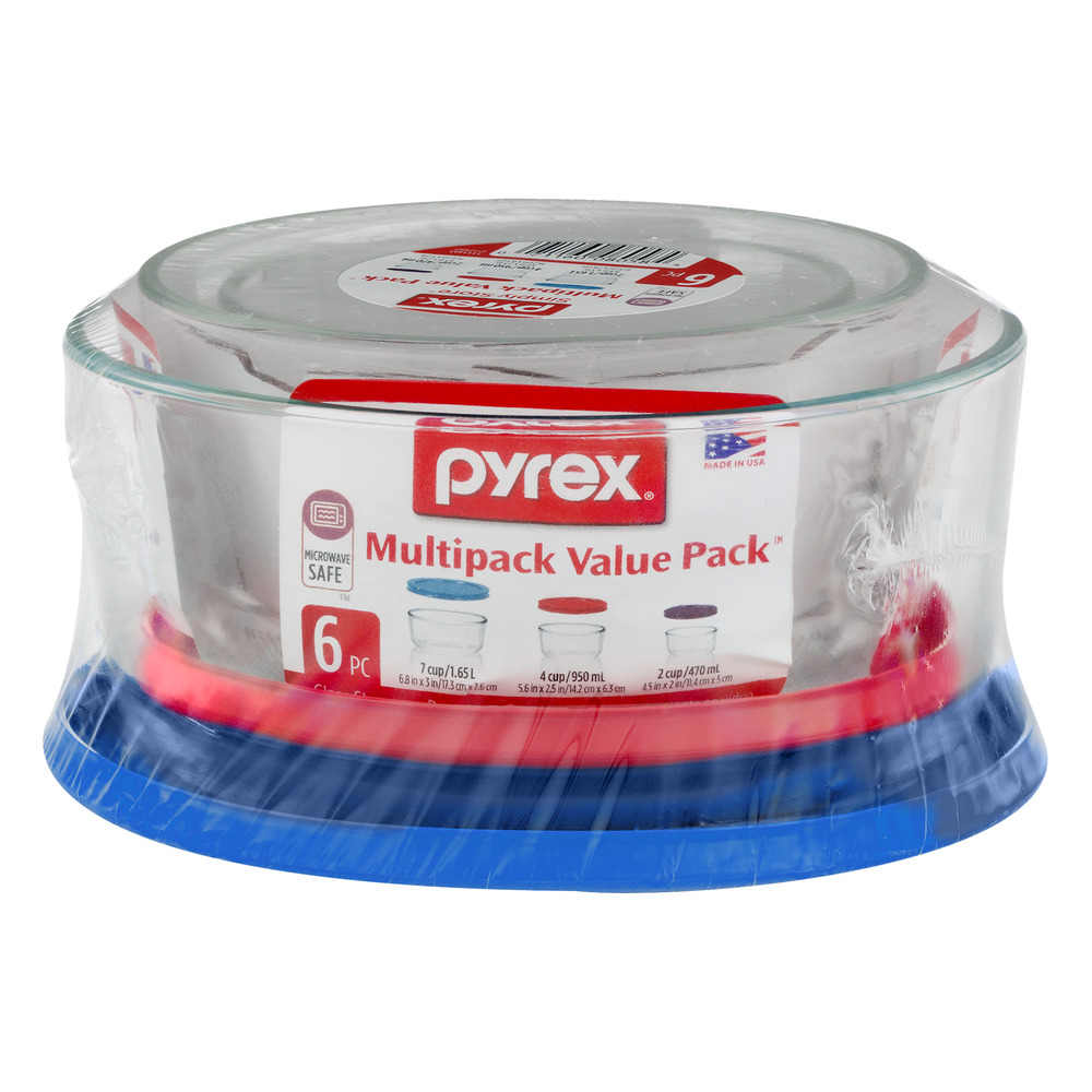 Pyrex Simply Store Multipack Value Pack - 6 PC, 6.0 PIECE(S)
