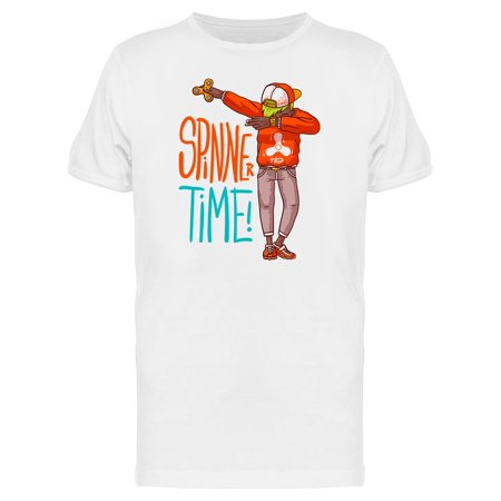 Spinner Time Dab Graphic Tee Men's -Image by Shutterstock