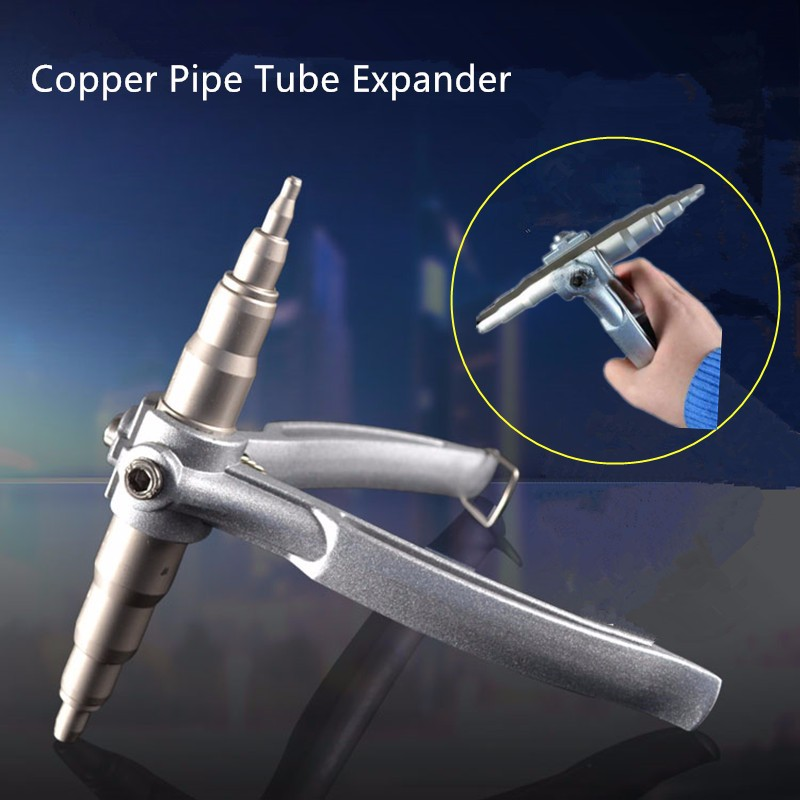 Copper Pipe Tube Expander Air Conditioner Fridge Install Repair Hand Expanding Tool HVAC Swager Tool 1/4-7/8 6-22mm