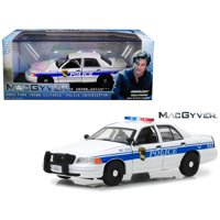 2003 Ford Crown Victoria Police Interceptor California Police MacGyver 2016 TV Series 1/43 Diecast Model Car Greenlight