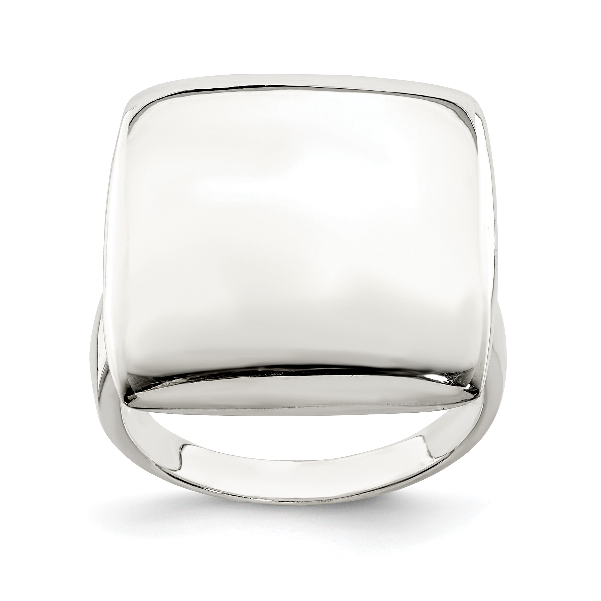 925 Sterling Silver Solid Band Ring Size 8.00 Fine Jewelry Gifts For Women For Her - image 2 de 2