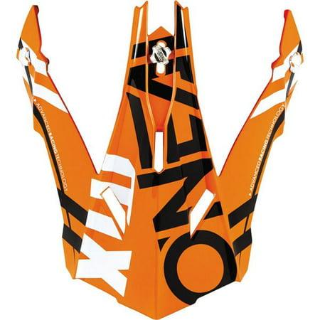 Orange/White/Black O'Neal Racing 2 Series Spyde  Helmet Visor](Horse Racing Helmets)