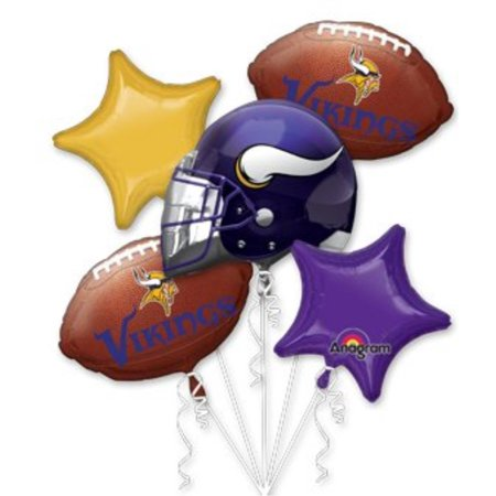 Anagram International Bouquet Vikings Party Balloons, - International Party