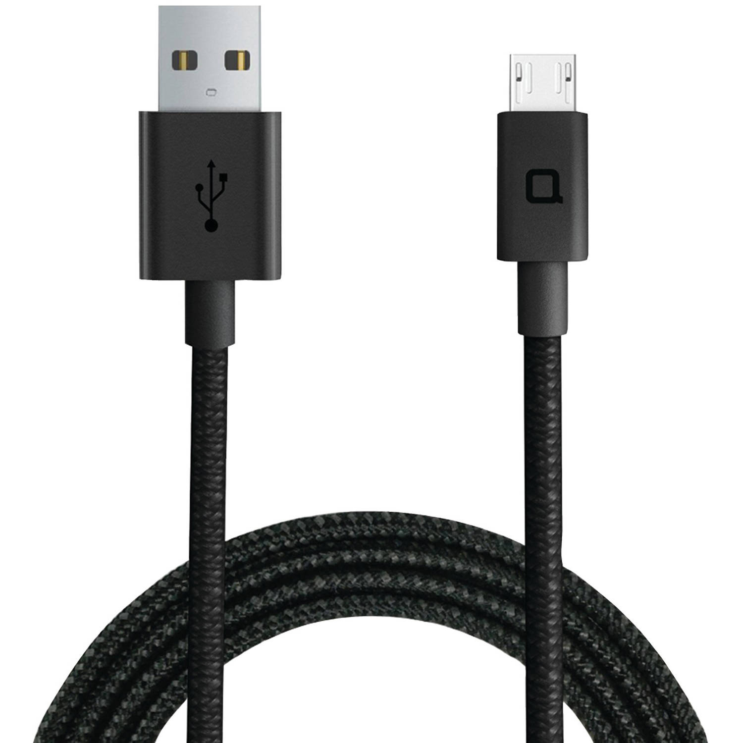 Nonda ZUMCBK4SK ZUS Super-Duty Micro USB Cable, 4ft/1.2m (Straight-Angle Plug)