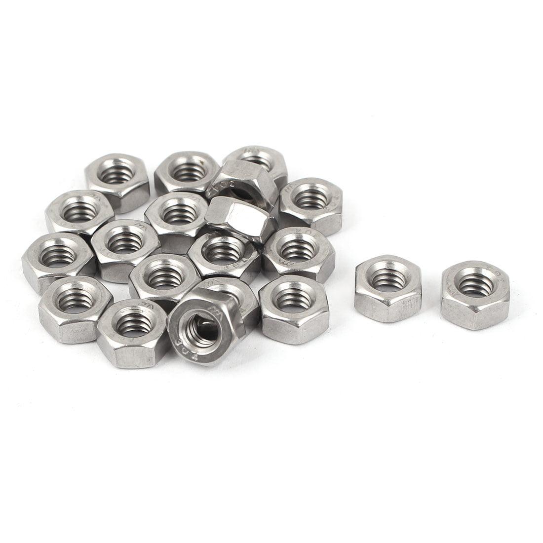 Hard-to-Find Fastener 014973285197 Grade 8 Coarse Lock Nuts 1//4-20 Piece-50