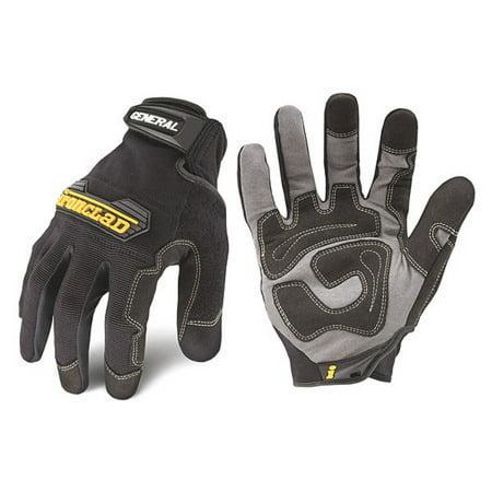 Ironclad, IRNGUG04L, General Utility Gloves, 2 / Pair, Large, Black