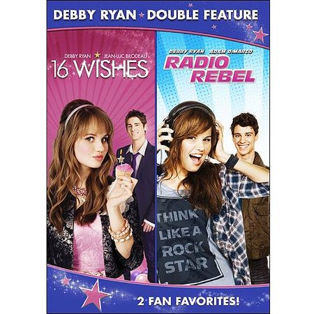 Debby Ryan Double Feature  16 Wishes   Radio Rebel  Widescreen