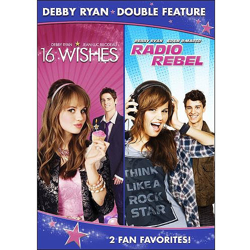Debby Ryan Double Feature: 16 Wishes / Radio Rebel (Widescreen)