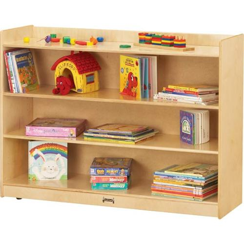 Mobile Bookcase W/ Lip-Option:Assemble Yourself