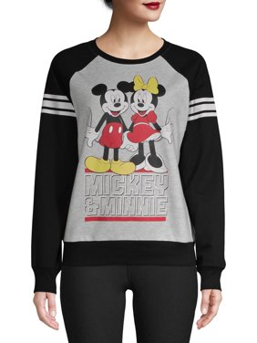 Disney Juniors' Mickey & Minnie Sweatshirt