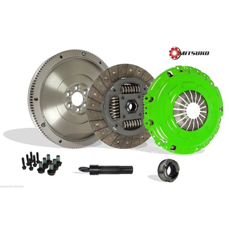 Clutch Kit Works With With Flywheel Audi Tt Vw Golf Jetta Base Classic Base Gls Gti Tdi Gl Soportline 1998-2006 1.8L l4 1.9L l4 DIESEL 1.8L l4 GAS SOHC Turbocharged (Stage (2006 Vw Jetta Tdi Egr Delete Kit)