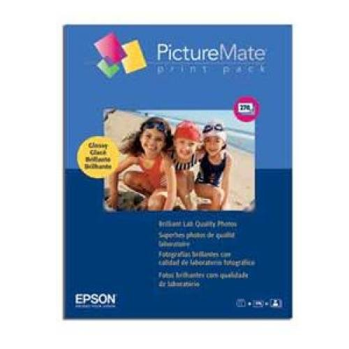 Epson T5570-270 PictureMate Print Pack -2 Inkjet Cartridges, 270 Sheets Glossy Photo Paper