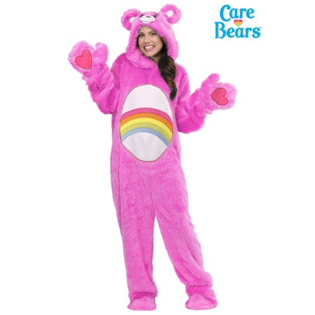Care Bears Adult Plus Size Classic Cheer Bear Costume - Toddler Care Bear Costume