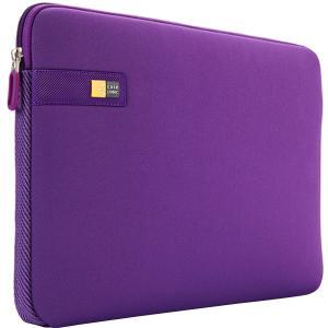 "Case Logic LAPS-113 Carrying Case (Sleeve) for 13.3"" Notebook, MacBook - Purple - Ethylene Vinyl Acetate (EVA) Foam - Textured - 10"" Height x 14"" Width x 1.1"" Depth MACBOOK SLEEVE"