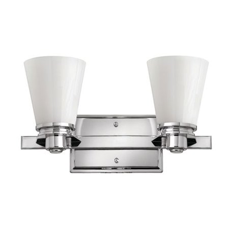 Hinkley Lighting 5552-LED 2 Light LED Bathroom Vanity Light from the Avon Collec