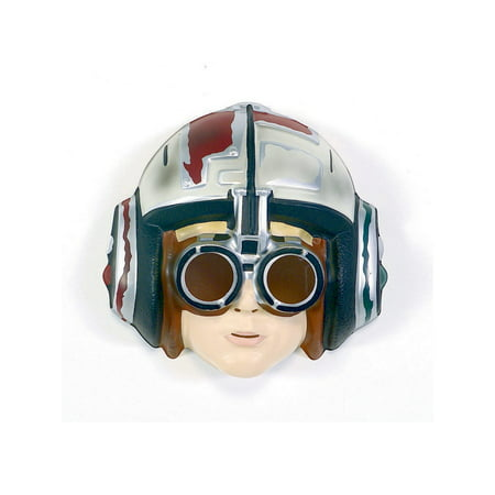 Star Wars Anakin Skywalker Racer Pvc Mask Halloween Costume Accessory](Abobora De Halloween)