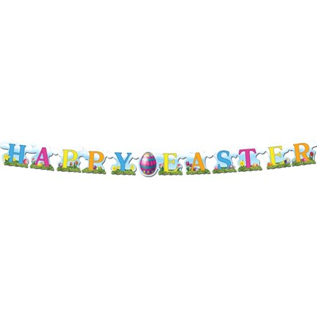 Happy Easter Streamer Halloween Decoration - Halloween Streamers Ideas