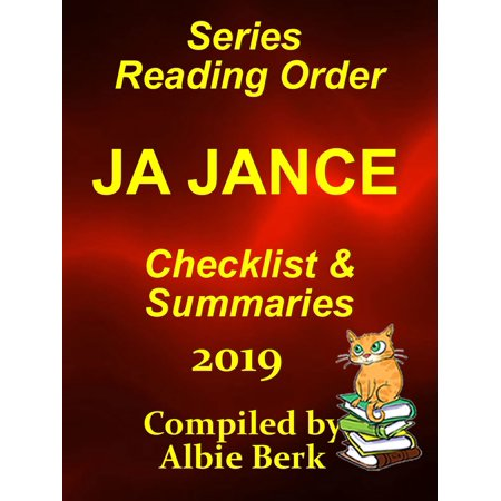 J.A. Jance Best Reading Order with Checklist and Summaries: Updated 2019 - (10 Best Reads Of 2019)