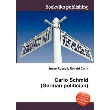 Carlo Schmid (German Politician) - image 1 de 1