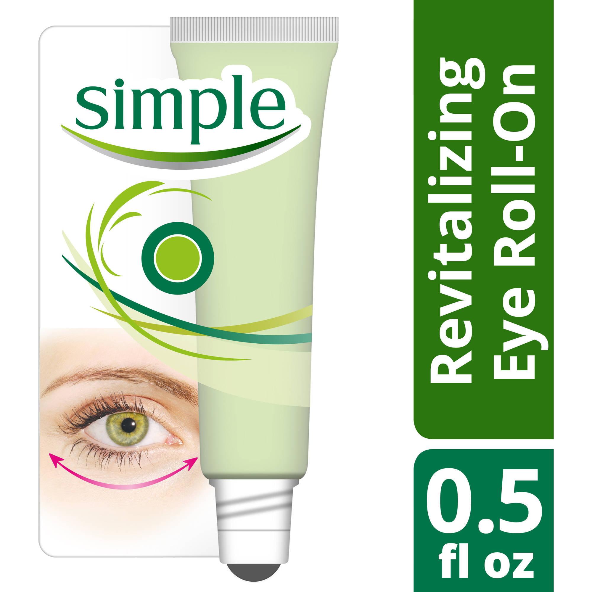 Simple Revitalizing Eye Roll-On, 0.5 oz