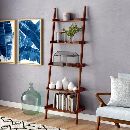 Brayden Studio Marinez Ladder Bookcase