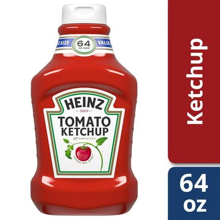 Small Ketchup (Heinz Fridge Fit Tomato Ketchup, 64 oz)