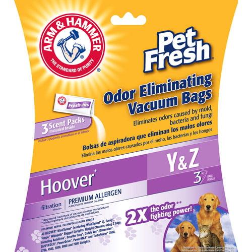 Arm & Hammer Hoover Pet Fresh Odor Eliminating Vacuum Bags, 6-Pack