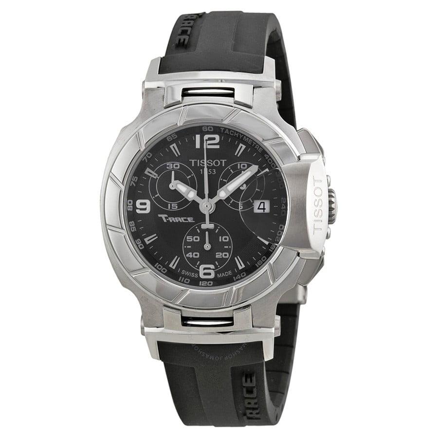 Tissot T-Race Chronograph Ladies Watch T0482171705700