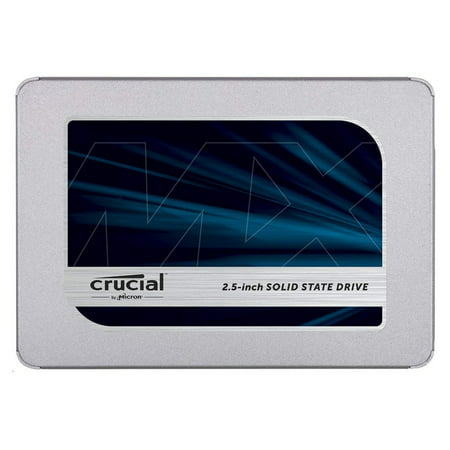 Crucial CT500MX500SSD1 MX500 500GB SATA 2.5-inch 7mm (with 9.5mm adapter) Internal