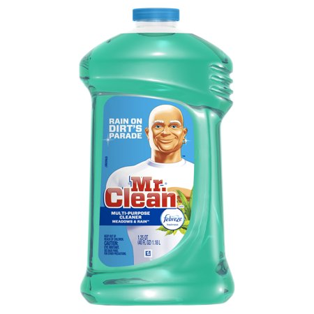 Mr. Clean with Febreze Meadows and Rain Multi-Surface Cleaner, 40 oz.