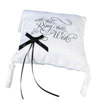 "Lillian Rose ""I Thee Wed"" Ring Bearer Pillow"