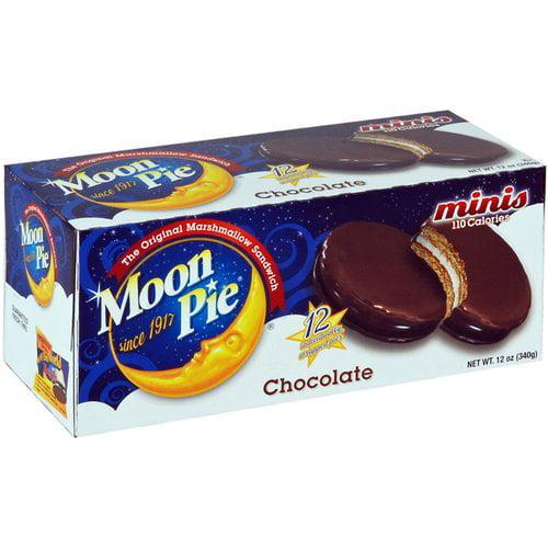 Moon Pie Mini Chocolate Marshmallow Sandwiches, 1 Oz., 12 Count