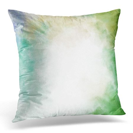 BOSDECO Abstract Colorful Vintage Artistic Canvas Color Colour Ink Pillowcase Pillow Cover Cushion Case 18x18 inch - image 1 de 1