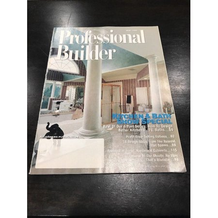 Professional Builder May 1996 Magazine-RARE VINTAGE COLLECTIBLE-SHIPS N 24 (Rare Vintage Magazine)