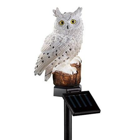 Owl Solar Garden Light - Solar Owl Garden Stake
