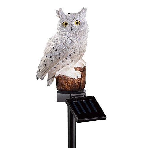 Solar Owl Garden Stake