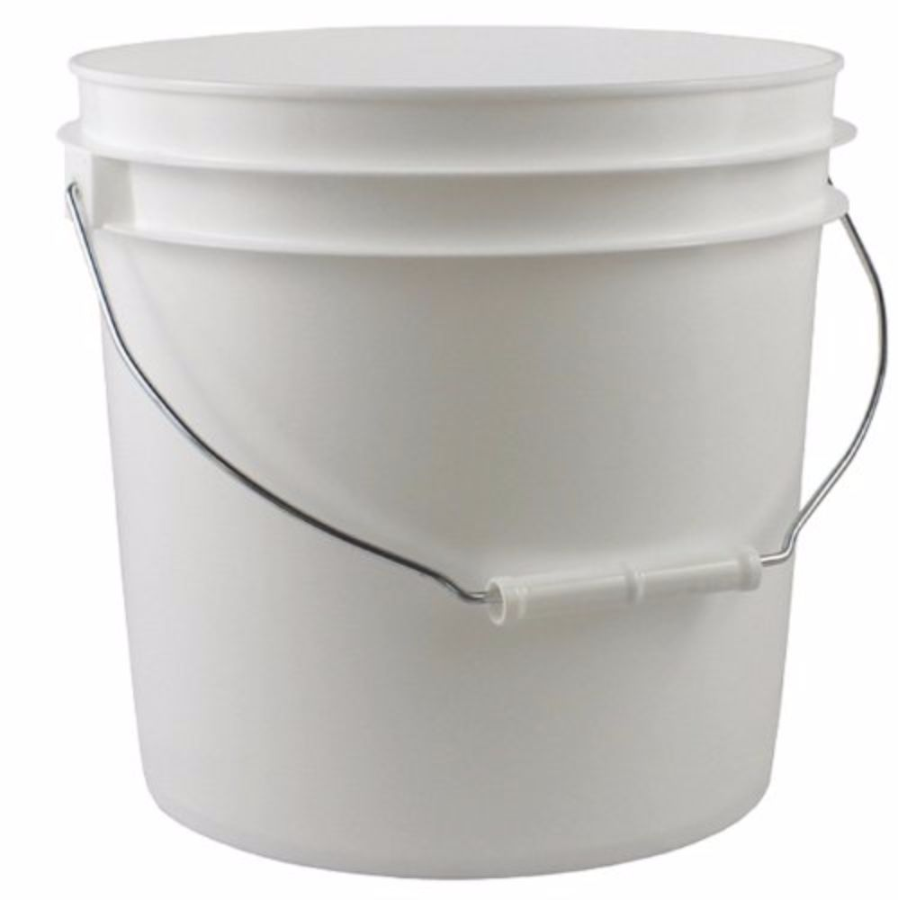 2 Gallon Plastic Fermenter Bucket Only by Midwest Homebrewing and Winemaking Supplies