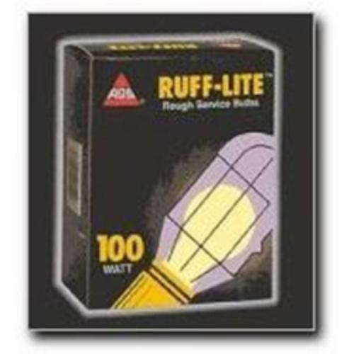 Ags Products RS-100 Bulb, Rough Service, 100 Watt, 24 Pack