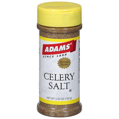 Adams Celery Salt Spice, 5.5 oz