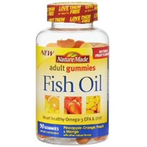 Vitamins & Supplements: Nature Made Fish Oil Gummies