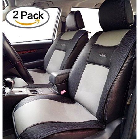 Breathable 2 Pcs Universal Car Seat Cushion Covers By Big Ant For Car Truck Suv Or Van   Best Protector Seats Mat For Driver  Xff0c Child  Baby Chair   Non Slip Rubber Soled   Black