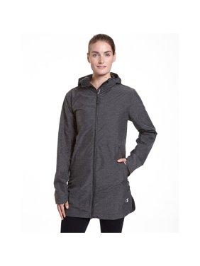5bb610637cee Product Image Champion Women s Technical Rain Jacket - Granite Heather - XL