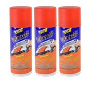 Plasti Dip Multi Purpose Rubber Coating Spray, Classic Muscle Hemi Orange, 11 ounce, Pack of 3