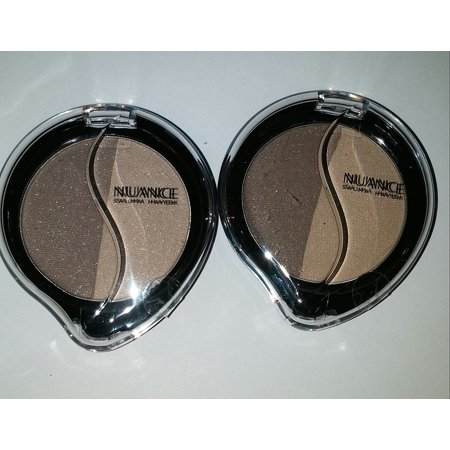 Mineral Eye-shadow Salma Hayek MOONSTONE/SHIMMERING SAND (Pack of 2), By Nuance From (Moonstone Eye)