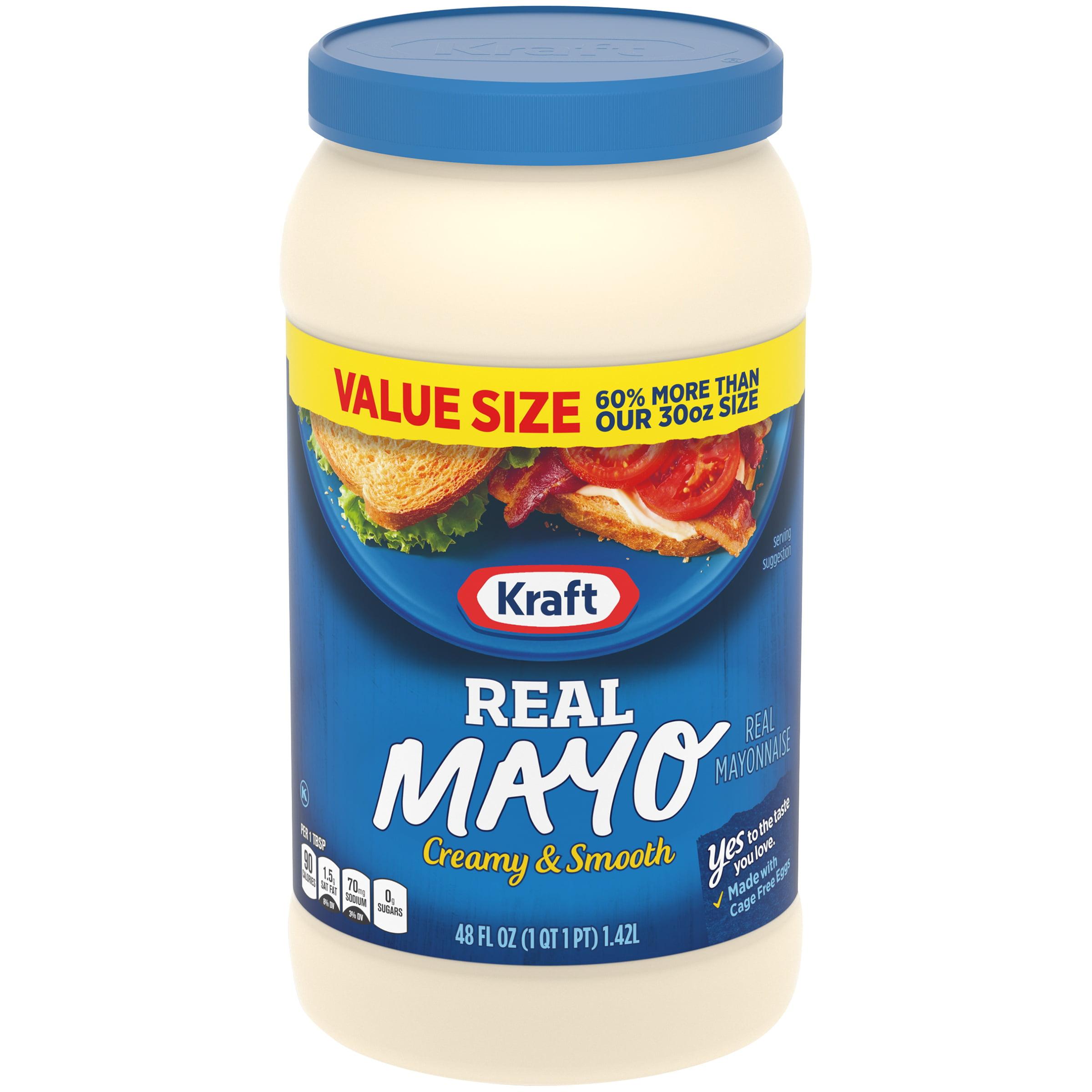 Kraft Real Mayo 48 fl. oz. Jar