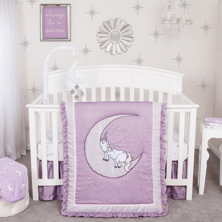 Unicorn Dreams 3 Piece Crib Bedding Set Walmart Com