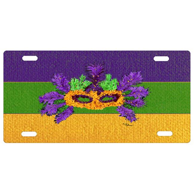 Mardi Gras License Plate