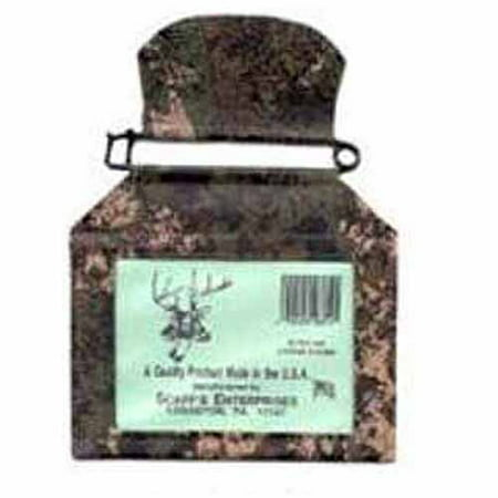 Scaff Camouflage Vinyl License Holder with Rustproof Pin ()