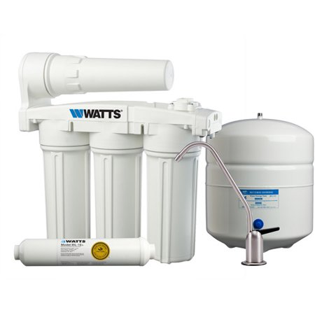 Watts Premier 5-Stage Manifold Reverse Osmosis with 24 GPD Membrane and Standard Faucet